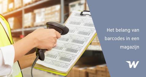 Het belang van barcodes in een magazijn