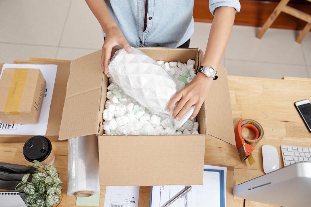Verpakken van orders