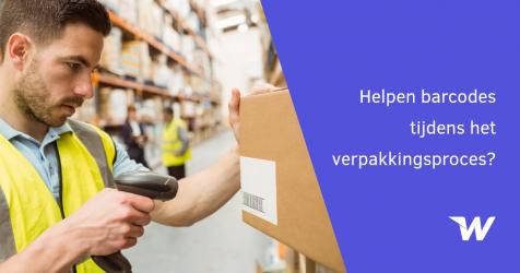 Helpen barcodes tijdens het verpakkingsproces?